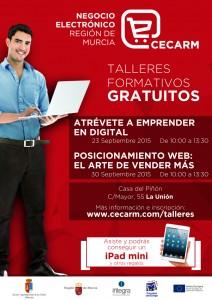 Posicionamiento Web: El arte de vender más - Taller formativo GRATUITO CECARM @ Casa del Piñón | La Unión | Región de Murcia | España