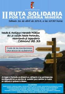 II Ruta solidaria por la Sierra Minera @ Desde el Antiguo Mercado Público hasta Portmán recorriendo el Camino del 33 | La Unión | Región de Murcia | España