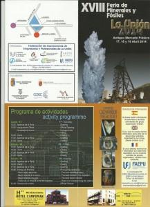 XVIII Feria de Minerales y Fósiles @ Antiguo Mercado Público | La Unión | Región de Murcia | España