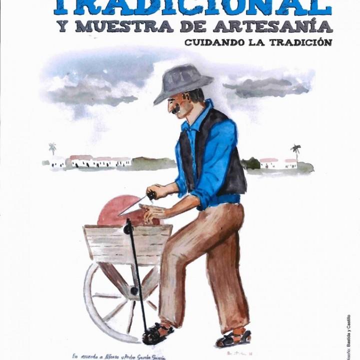Cartel XII Mercado Tradicional y Muestra de Artesanía.