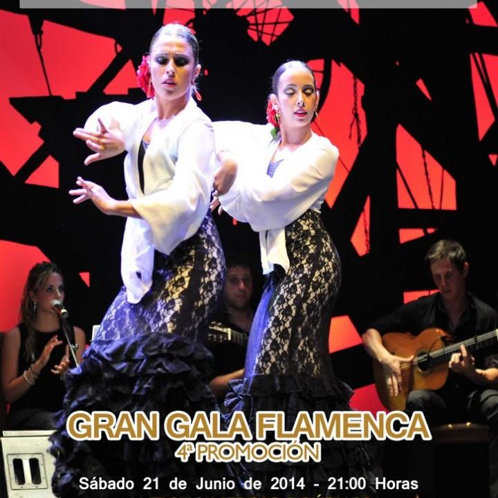 Cartel Escuela de Arte Flamenco.