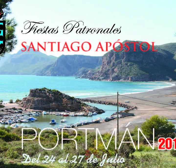 Cartel Fiestas de Portmán 2014
