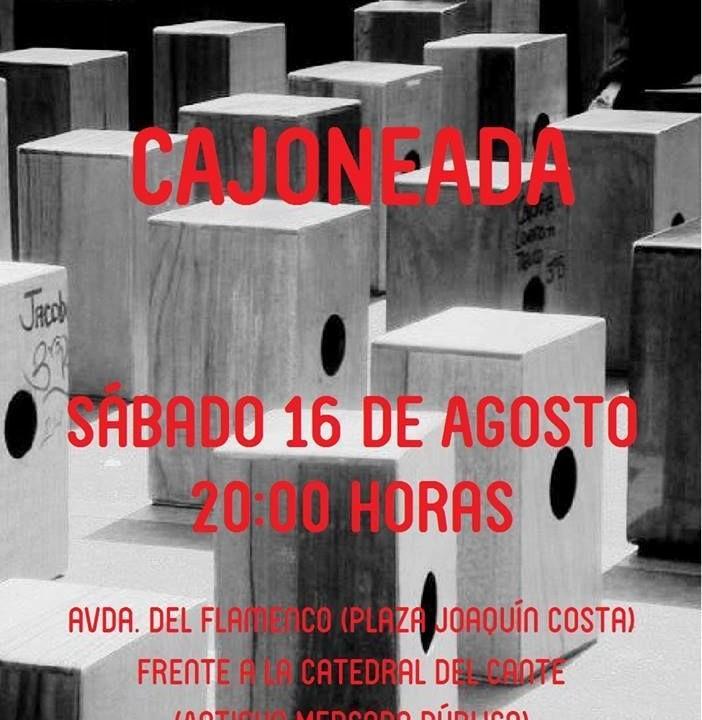 15.08.14 CAJONEADA SÁBADO