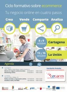 Ciclo formativo sobre ecommerce @ Edificio Casa del Piñón | La Unión | Región de Murcia | España