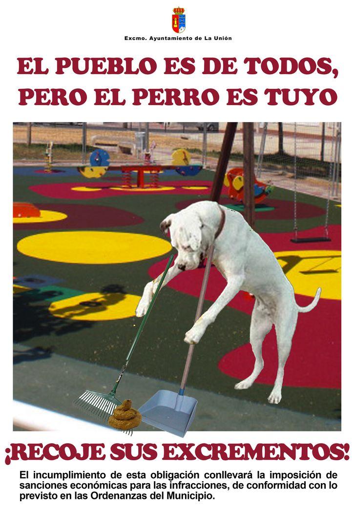 Cartel Campaña Limpieza Excmo Ayuntamiento De La Unión