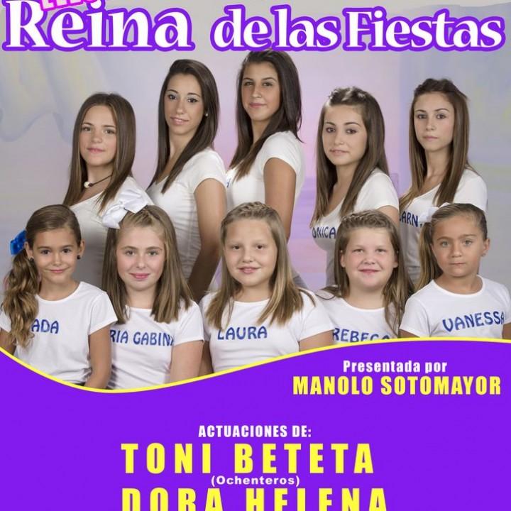Cartel Elección de la Reina Fiestas 2014