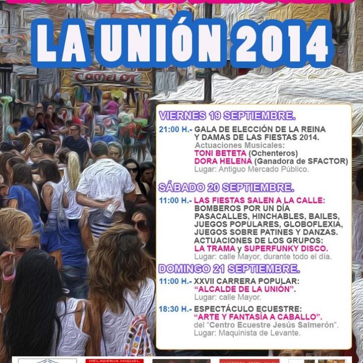 Cartel Prefiestas del Rosario 2014