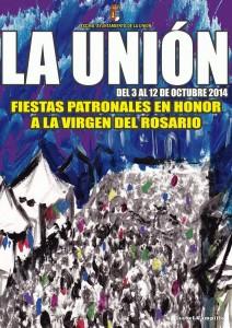 Cartel de Fiestas Virgen del Rosario 2014.