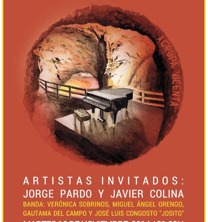 Cartel Abdón Alcaraz.