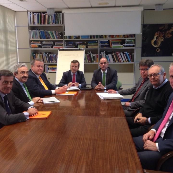 1.Reunión DG.Costas en Madrid.10-12-14