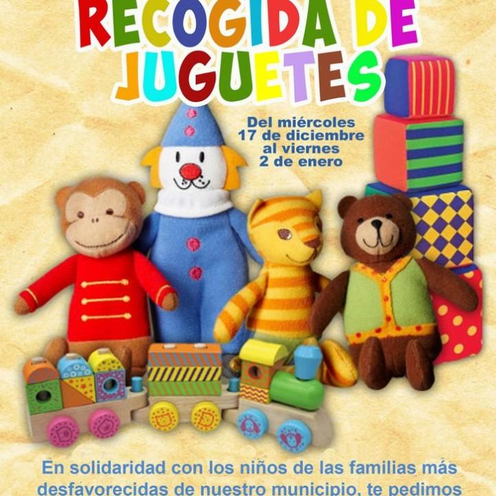 Cartel Campaña de recogida de juguetes 2014.