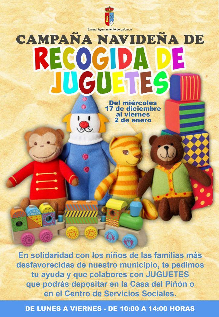 Campaña Recogida Comienza Navideña De La JuguetesExcmo nw0Pk8OX