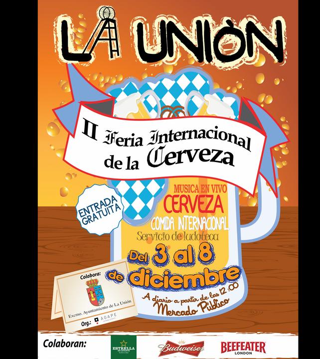 Cartel II Feria de la Cerveza 2014