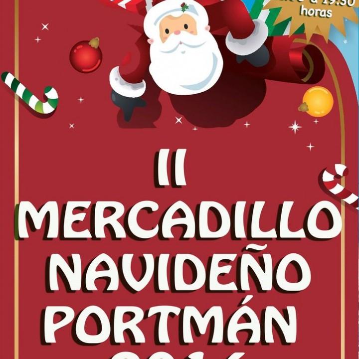 Cartel Mercadillo Navideño de Portmán 2014