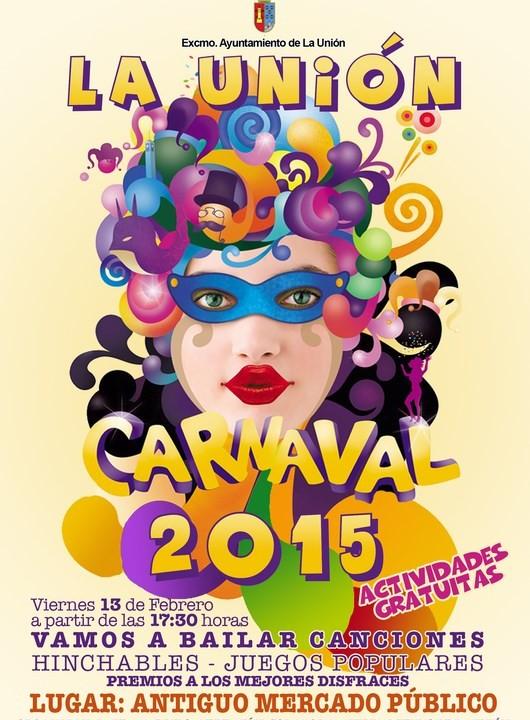 Cartel del Carnaval en La Unión.2015