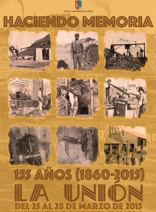 Cartel 155 Aniversario municipio.