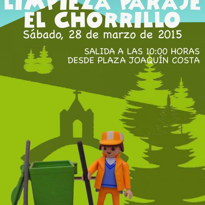 Cartel Limpieza El Chorrillo 2015