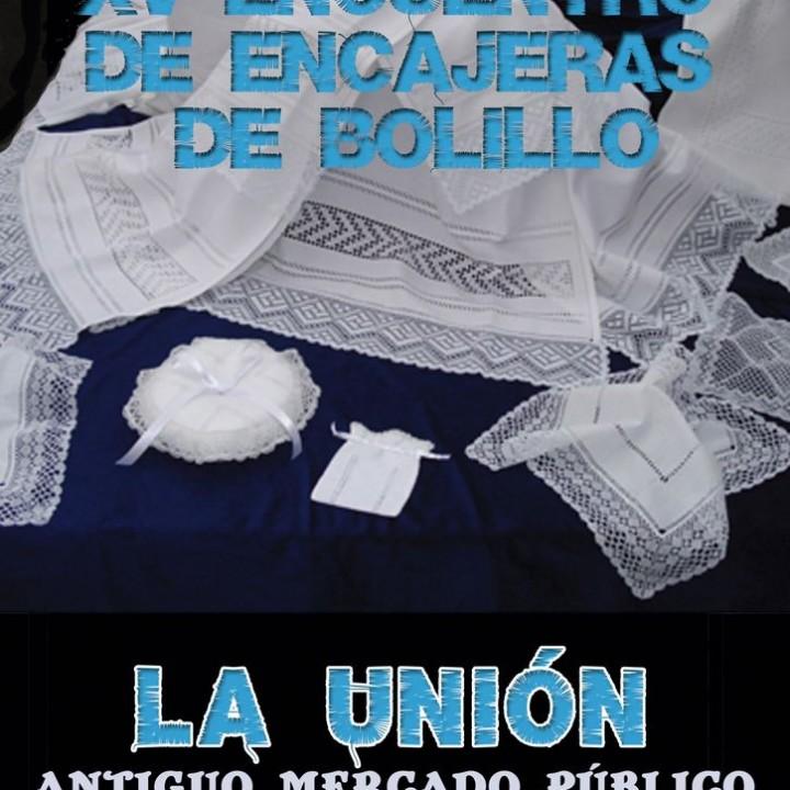 Cartel XV Encajeras de Bolillo 2015