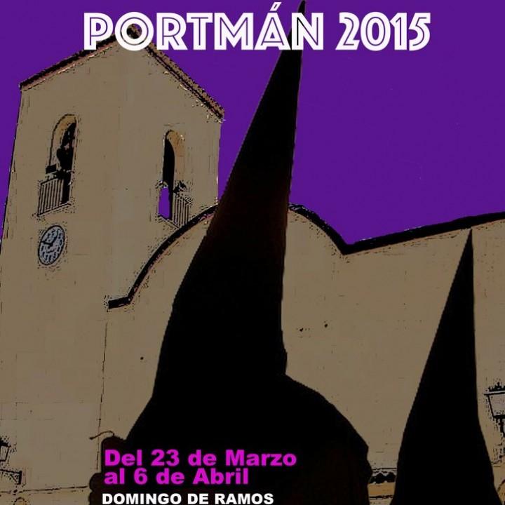 Cartel anunciador de la Semana santa de Portmán.2015