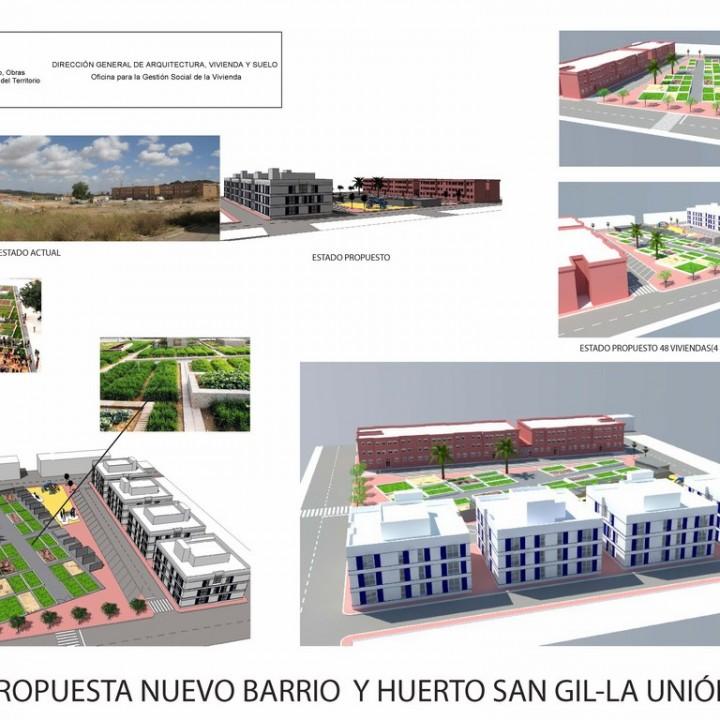 Plano 1.Nuevo San Gil Ordenación