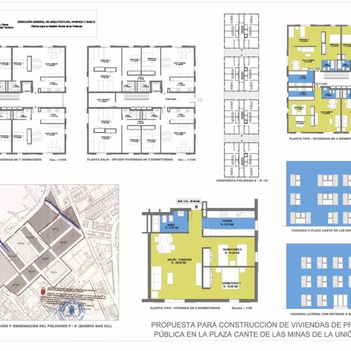 Plano 2.Nuevo San Gil VIVIENDAS.Modelo