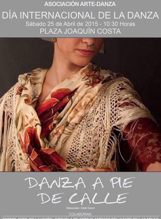 Cartel de celebración del Dia de la Danza. 2015