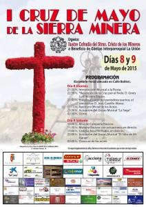 Cartel I Cruz de Mayo de la Sierra Minera.2015