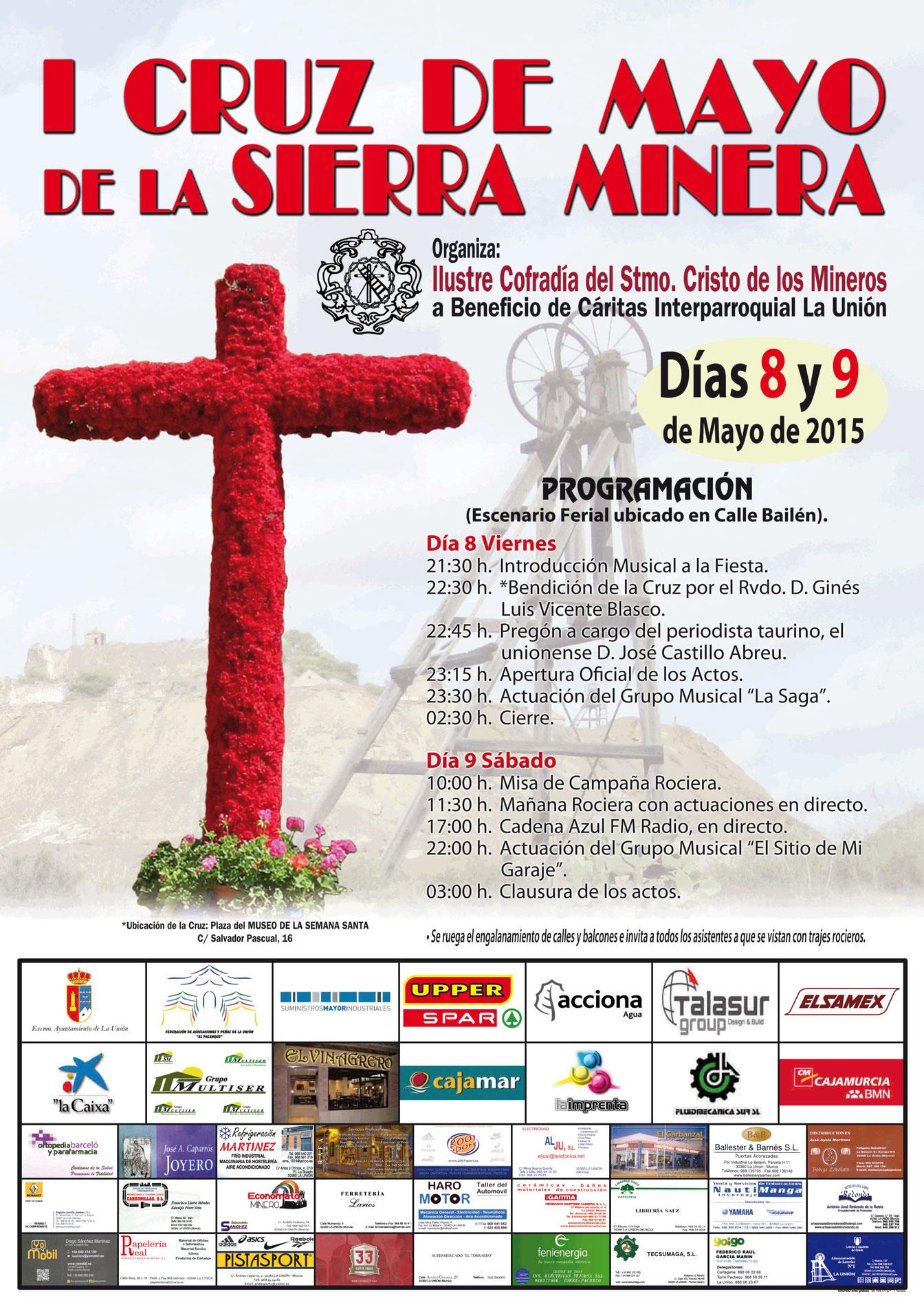 CELEBRACIÓN DE LA I CRUZ DE MAYO DE LA SIERRA MINERA   Excmo ...