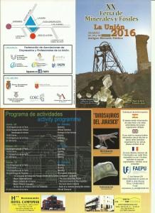 DIPTICO FERIA MINERALES 2016