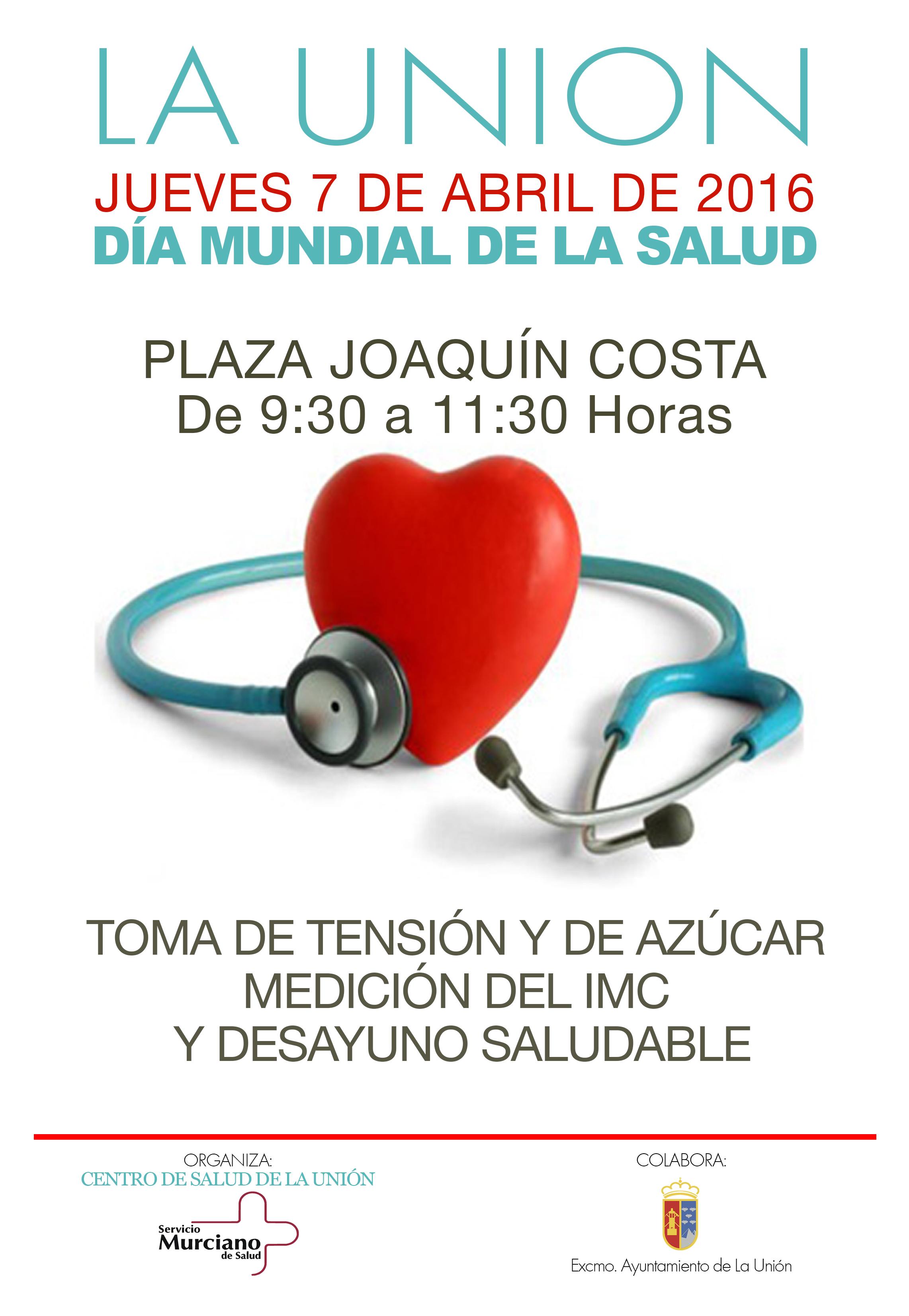 7 DE ABRIL D U00cdA MUNDIAL DE LA SALUD Excmo Ayuntamiento