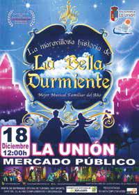La maravillosa historia de la Bella Durmiente @ Antiguo Mercado Público
