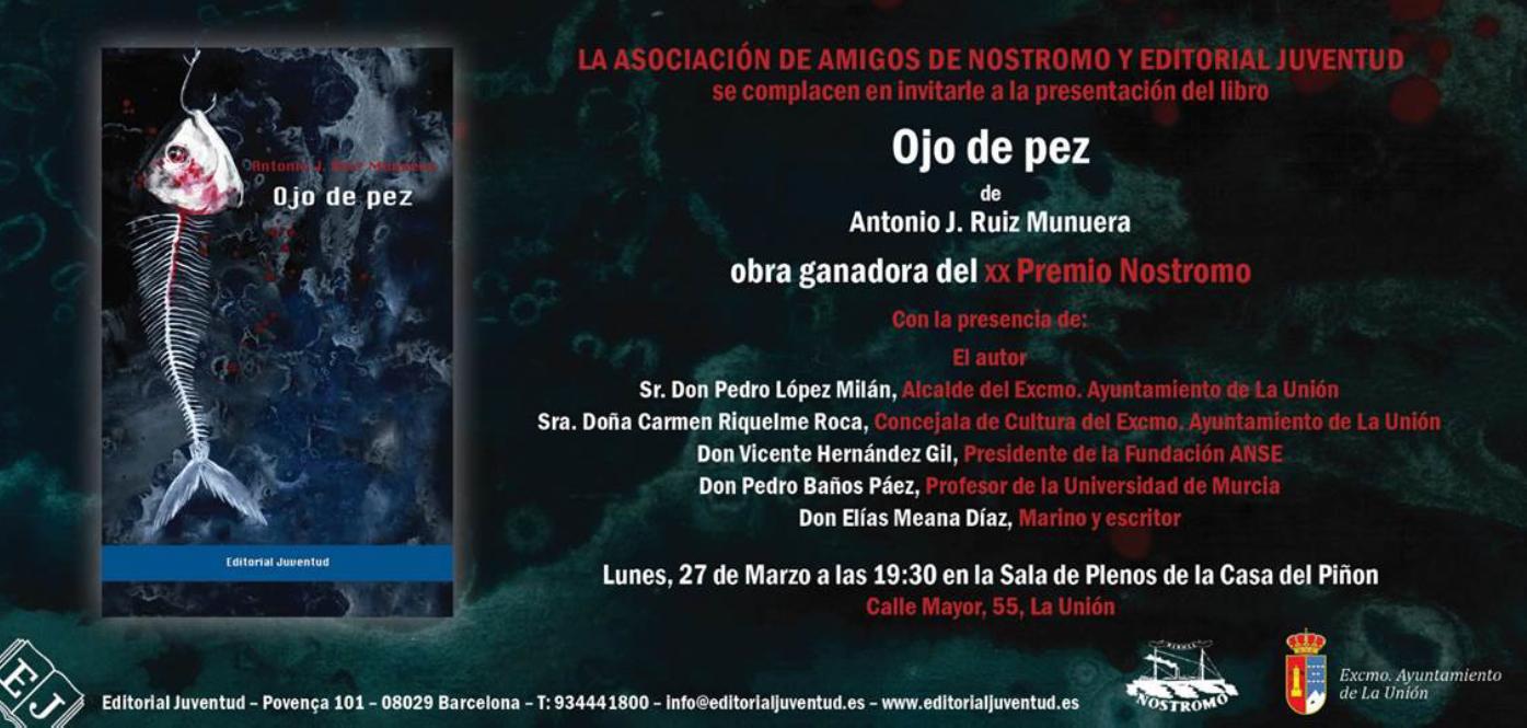 """OJO DE PEZ"""" UNA NOVELA NEGRA AMBIENTADA EN LA BAHÍA DE PORTMAN ..."""