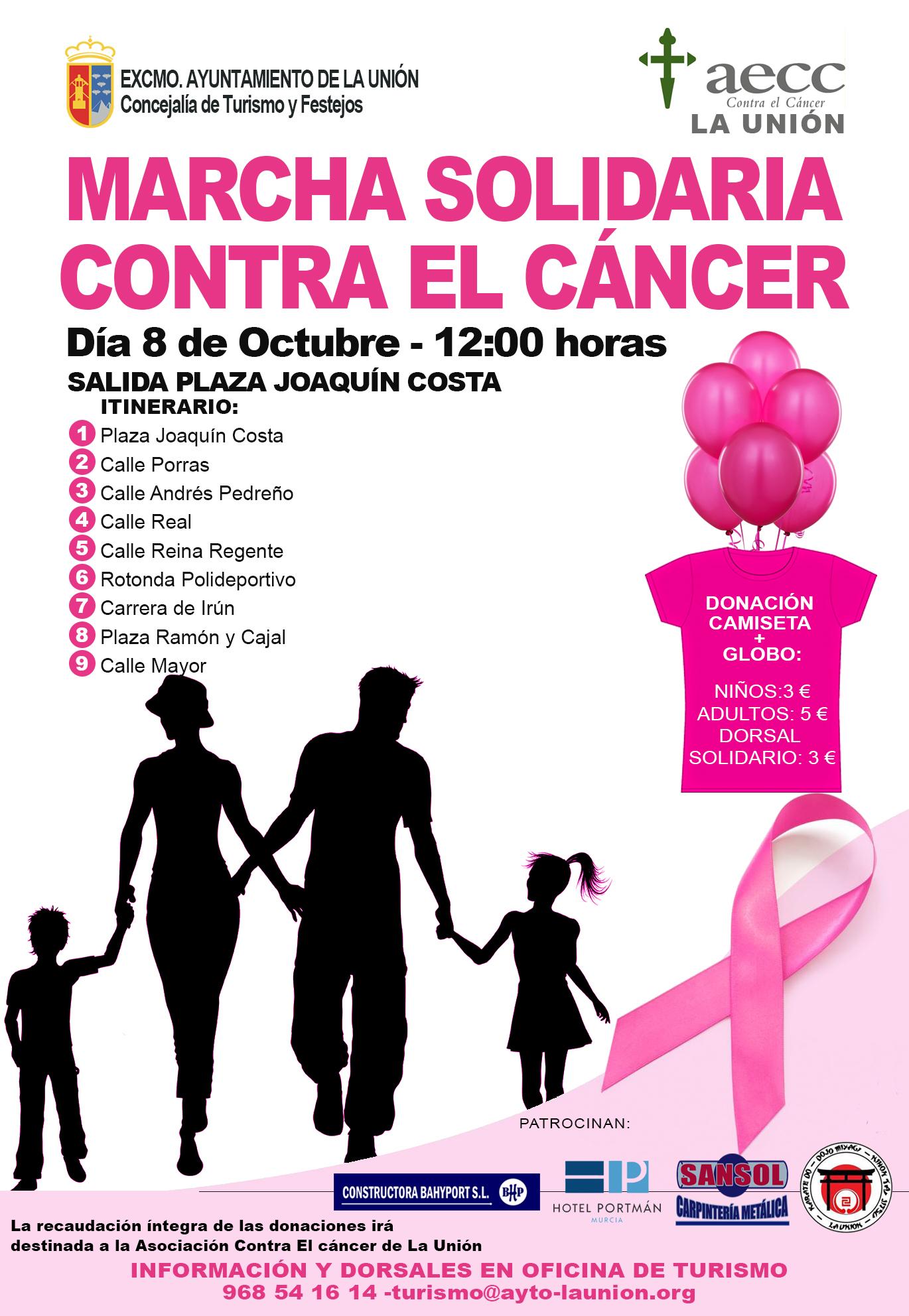 El día 8 de Octubre celebraremos una Marcha solidaria contra el ...
