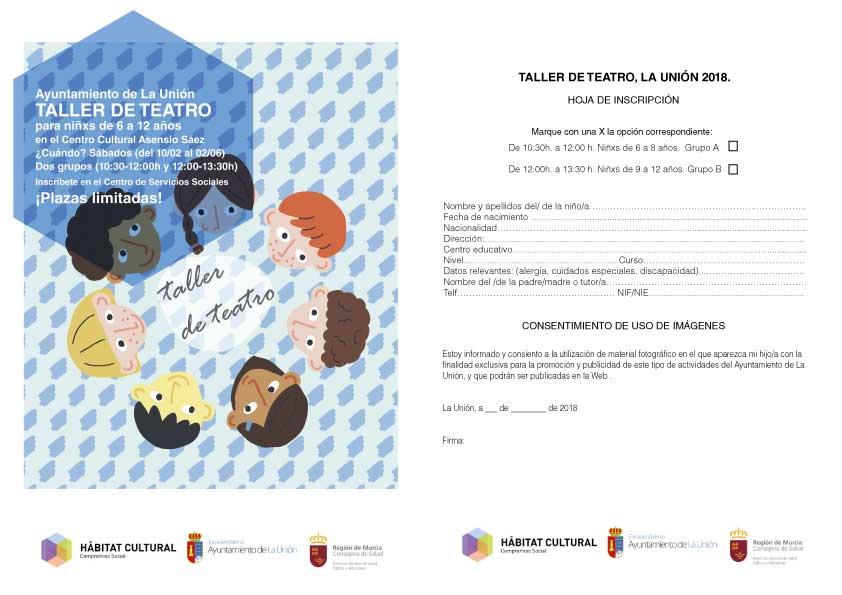 Taller de teatro para niños de 6 a 12 años. | Excmo. Ayuntamiento de ...