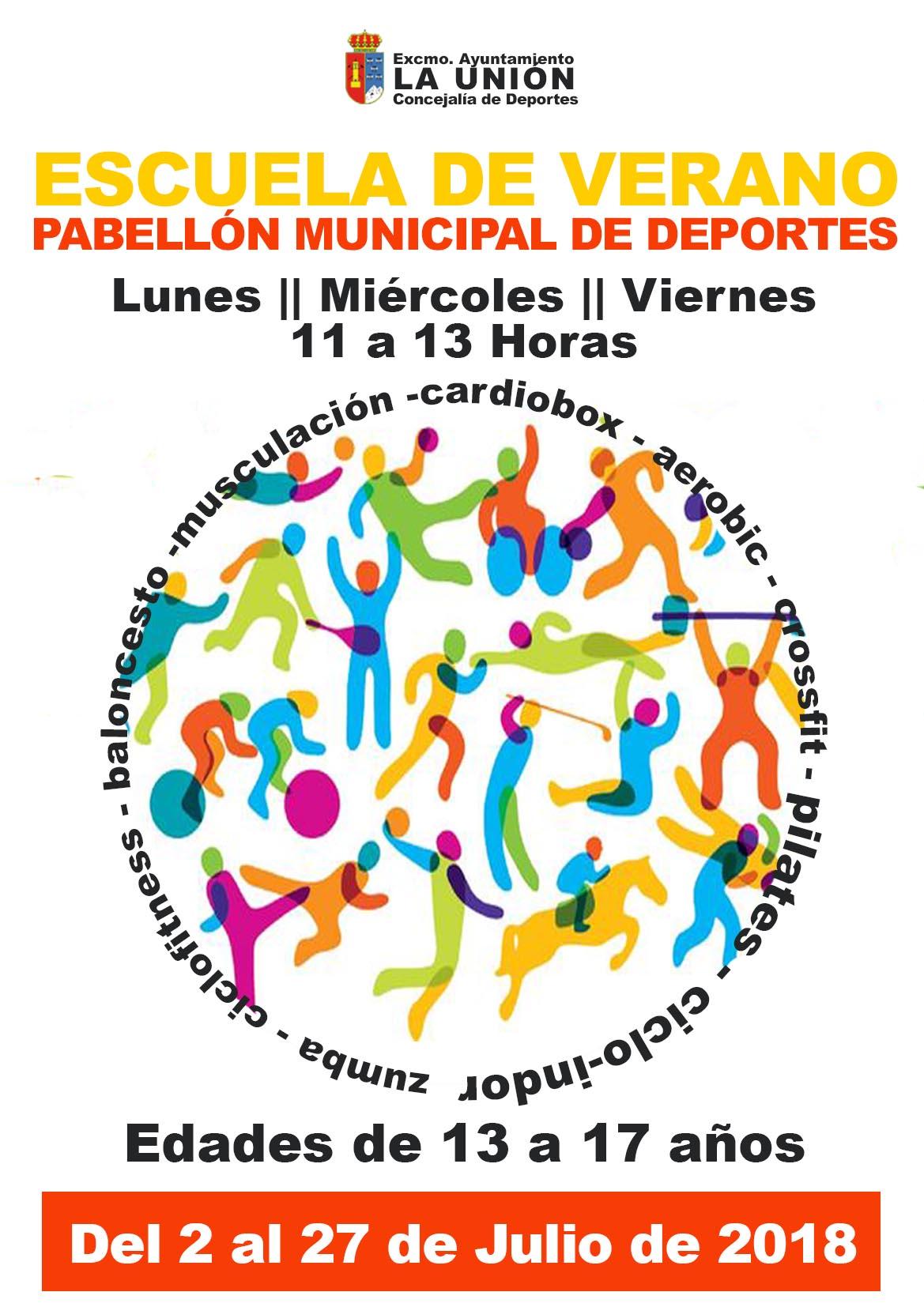Escuela de verano municipal gratuita, para adolescentes. | Excmo ...